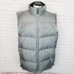 Eddie Bauer|EB700 Down Feather Gray Puffer Vest